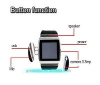 Modern best selling wrist watch cell phone