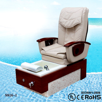 2015 pedicure foot spa massage chair/electric foot spa/ pedicure foot spa massage portable (KM-S816)