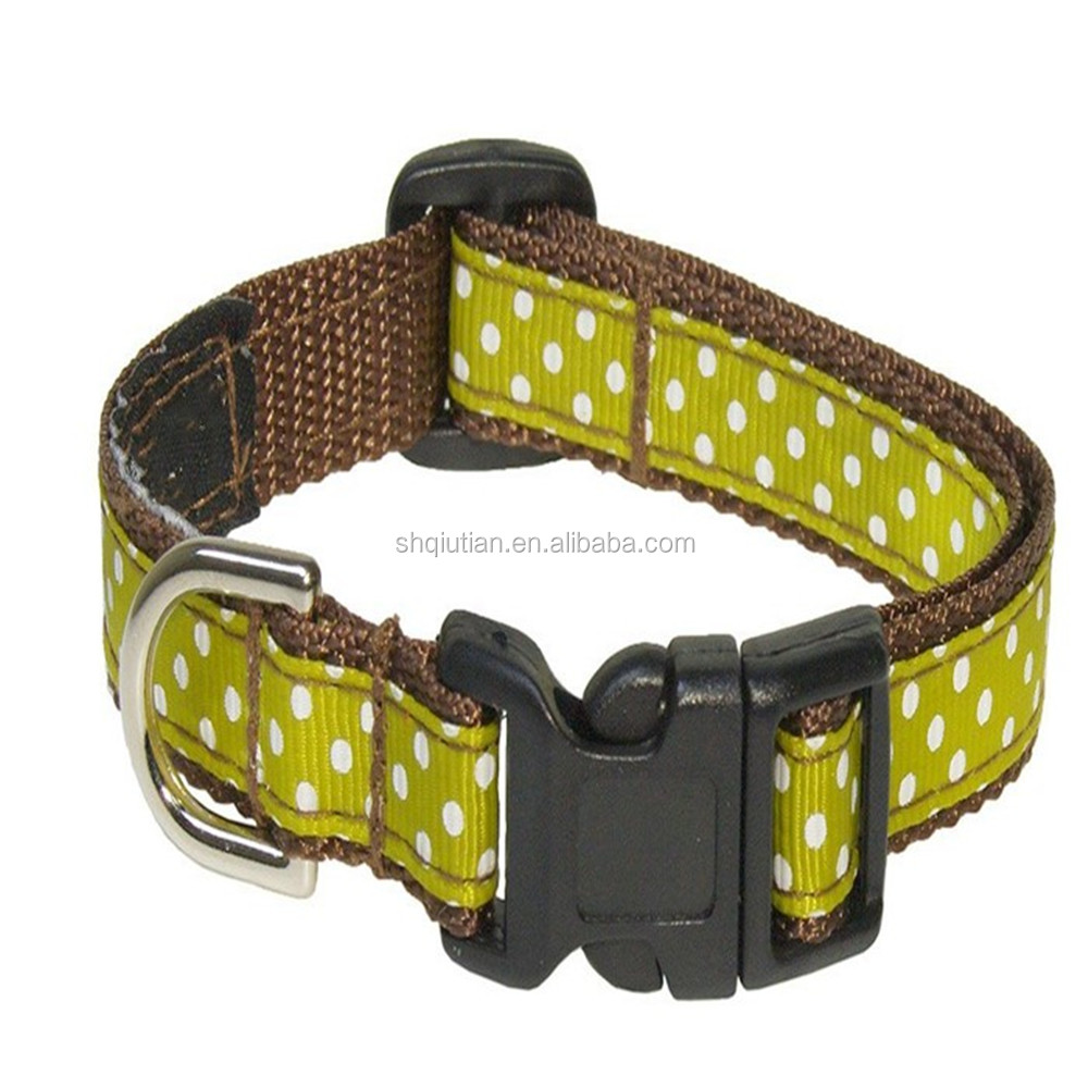Pet Dog CollarType Nylon Dog Collar/ Wholesale Dog collar/ Custom Pet Product