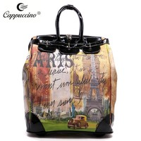 2015 Canvas With Print Trolley Travel