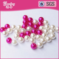 Custom decoration wholesale abs pearl beads fashion 10mm round for garment