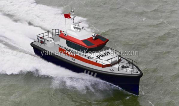 15m Luxury Yacht Type and Fiberglass Hull Material military patrol boats for sale