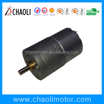 Chaoli low speed low vibration gear motor CL-G25-RF300 safty box storage box