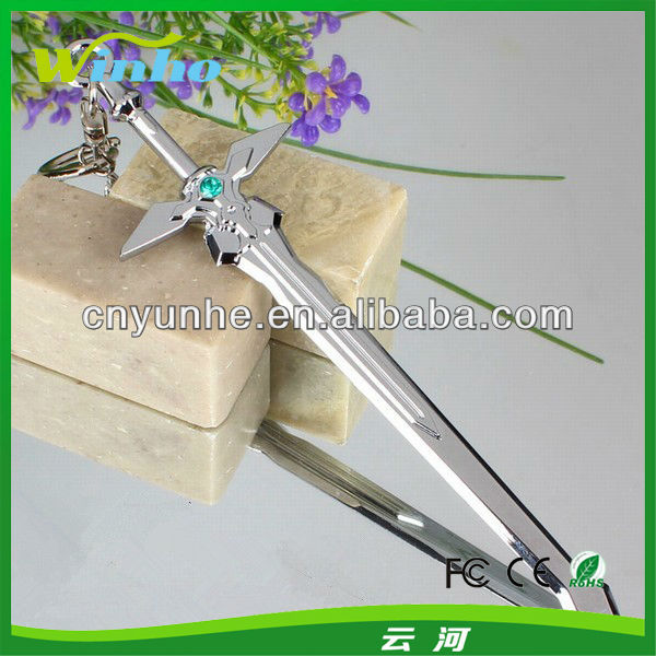 Metal Sword Keychain