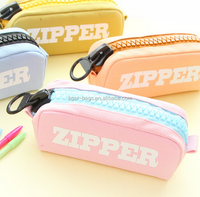 2016 New Style 2 Zipper Pencil Bag Case for Kids