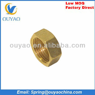 "M1/4"" Brass End Cap Plug"