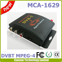 Car HD DVB-T Receiver with MPEG4/H.264 dual tuner