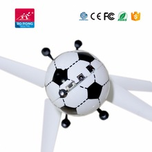 hot sale rc infrared sensing soccer ball led flying toy with flashing light BR-B22-5