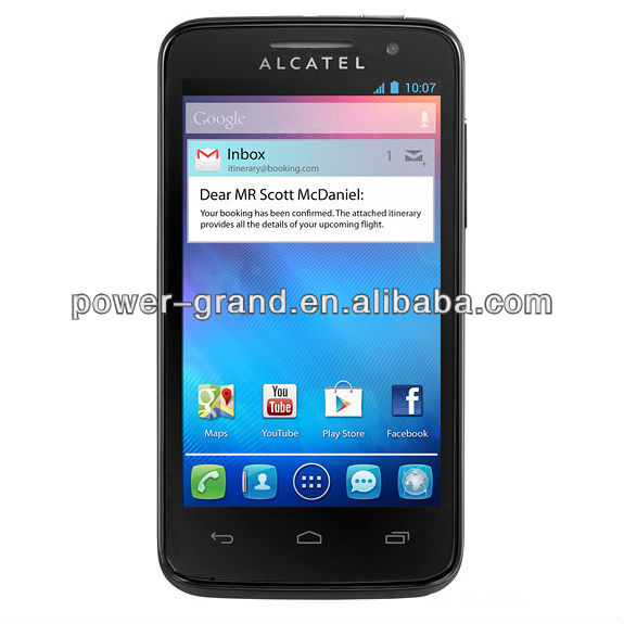Screen guard for Alcatel One Touch M'Pop Mpop OT-5020 5020D 5020E 5020W