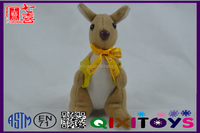 The vivid animal toy stuffed kangaroo sex toy with ribbon