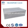 Brand new cages for storage and transport - stackable and foldable steel cages with high quality transport animal cages