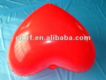 Inflatable Red Heart