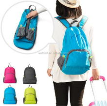 Cheap Waterproof Nylon Backpack Big Shoulder Bag Travel Casual School Foldable Backpack