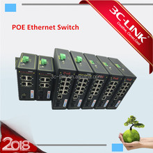 Gigabit PoE Ethernet Switch Industrial 8 PoE ports+2 SFP slot +1 console port Managed Switch