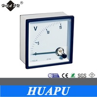 Manufacture best quality 72*72mm Analog panel meter AC Voltmeter /Ammeter