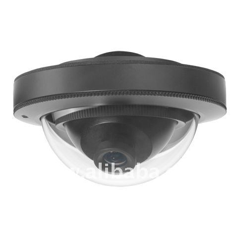 Weather-proof & Vandal-proof Super Mini Metal Dome Camera