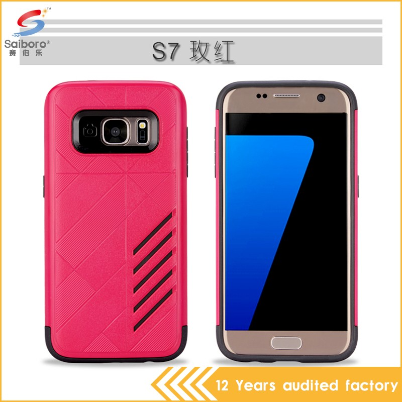 Factory direct supply plastic hard back case cover for samsung galaxy e7