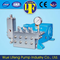 low discharge high pressure water pump 300bar high pressure with air compressor