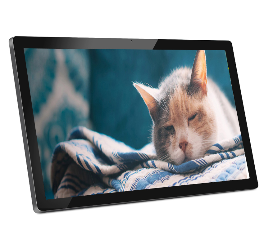 Fixé au mur de 27 pouces cadre photo numérique de grande taille pour l'affichage de publicité - ANKUX Tech Co., Ltd