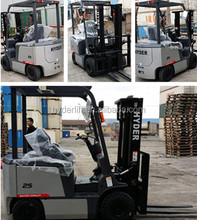 best quality 3tonns electric forklift material handling equipment