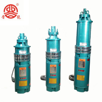 single tube Submerged submersible pump for well