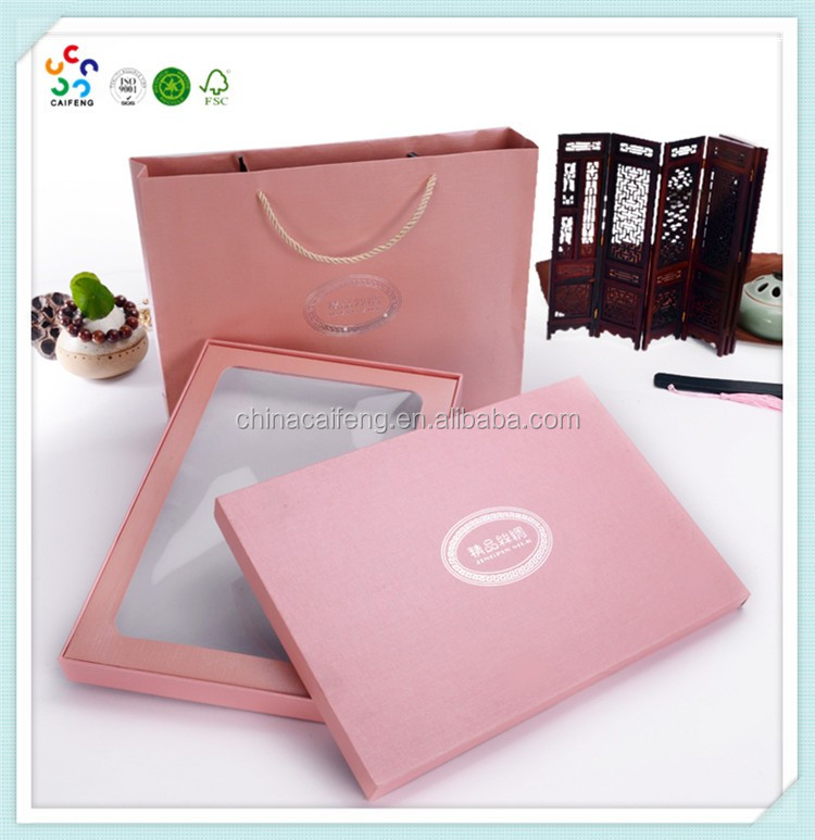 High Quality Bra Display Cardboard Box With Window