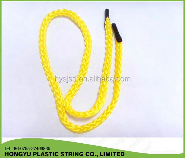 round braided pp handle rope for paper bag
