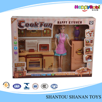 Hot sale kids funny plastic pretend play kitchen