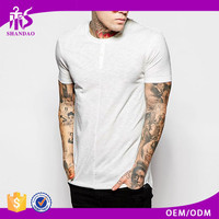 OEM Manufacturer Summer High Quality Short Sleeve O-Neck White 180g 100% Cotton Pre Washed Blank T-Shirts