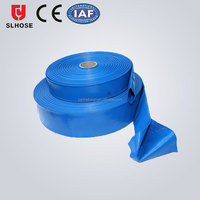 3 inch pvc lay flat hose pipe for agriculture irrigation