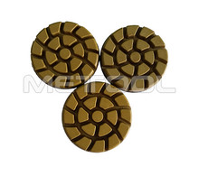 China Supplier 3 Inch Diamond Tools Diamond Floor Polishing Pads With Resin Bonded