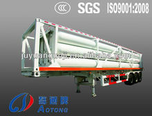 China 3 alxes CNG transport tanker semi trailer