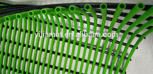 Rectangular and rolls packing PVC plastic tube mat