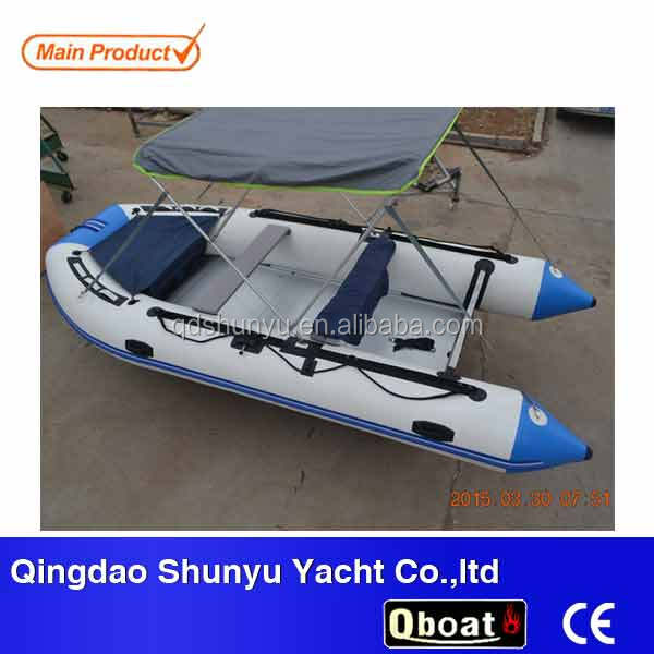 best selling CE korea pvc zodiac folding Inflatable boat cheap fishing boats