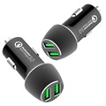 Hot Sell USB in car charge Kit Dual QC3.0 charge car charger