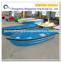 Double layer fiberglass lake fishing boat with cheap price