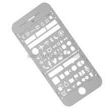 Stainless Steel Stencil planner Drawing Template/stencil