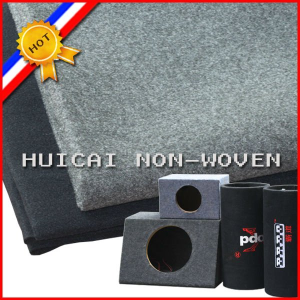 pet needle punched nonwoven carpet for speaker box e-commerce mail order