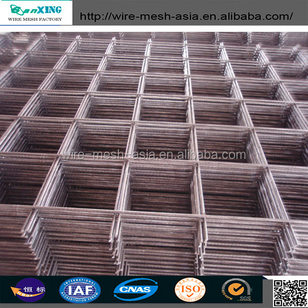"1""X1/2"" GI welded wire mesh panel /black steel welded wire mesh panel"