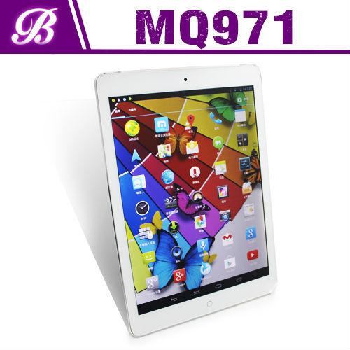 Hot selling 9.7 inch MTK8382 quad core 1G RAM 16G ROM high quality android 4.1 tablet pc flash player