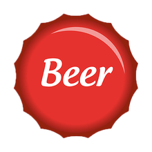 Red color cheap beer bottle caps wholesale