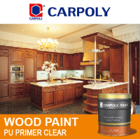 CARPOLY PU primer clear, High performance oil based, Wooden Furniture Paint, TD1224 Wood paint