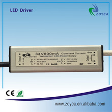 20w 300ma waterproof constant current led lighting power supply led driver with CE and RoHS