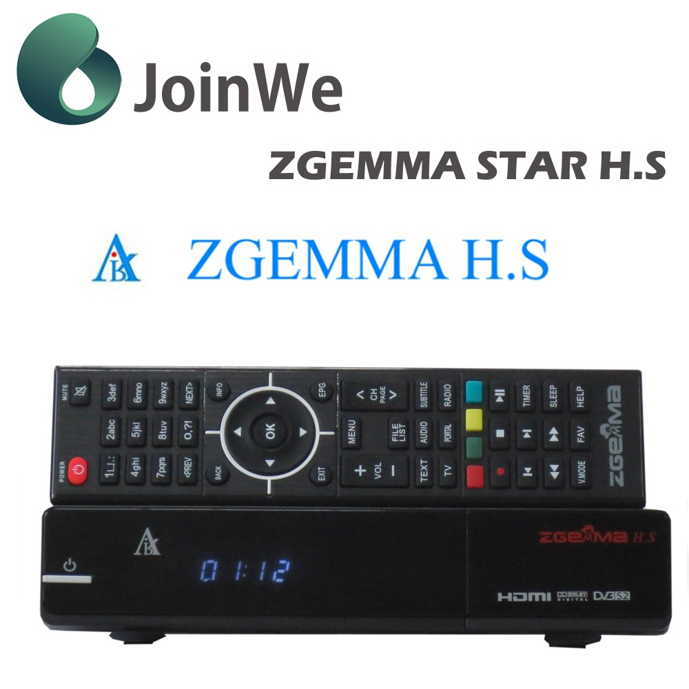 Latest zgemma H.S Free To Air IPTV tv box DVB-S2/S tuner Digital Satellite Receiver