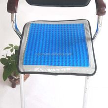 Bone china gel massage chair coccyx seat cushion