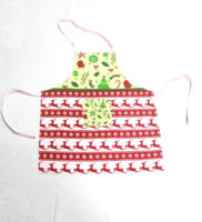 Christmas deer apron polyester cotton aprons kitchen accessories