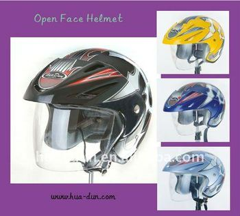 Fashion style open face helmet Motorcycle 3/4 HELMET with DOT