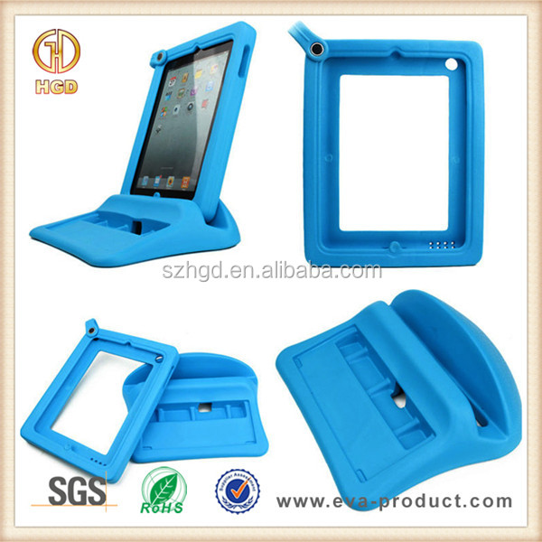 2 in 1 childproof foam case cover for tablet pc, for ipad tablet case with keyboard