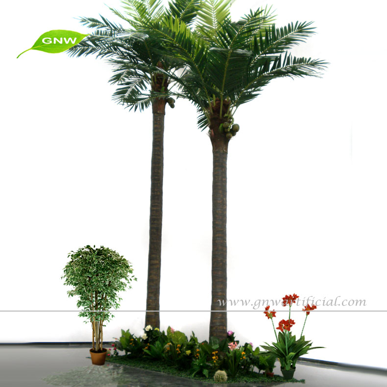 GNW APM044 artificial fake coconut palm tree low price for sale