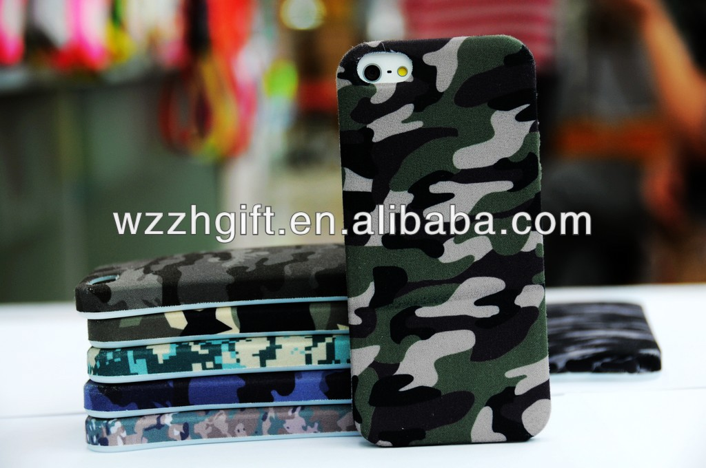 Customized Fabric Phone Case for Iphone 5